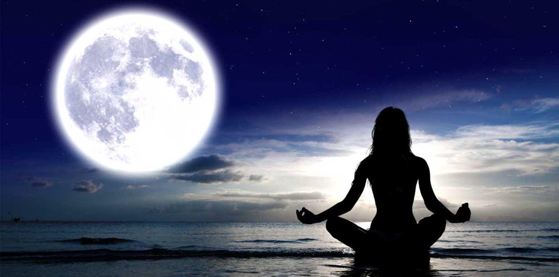 Meditación Luna Llena en Igualada